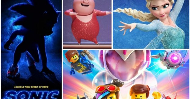 The sequels of 'Frozen', 'The Secret Life of Pets', ...: these are all animated films that you would expect in 2019