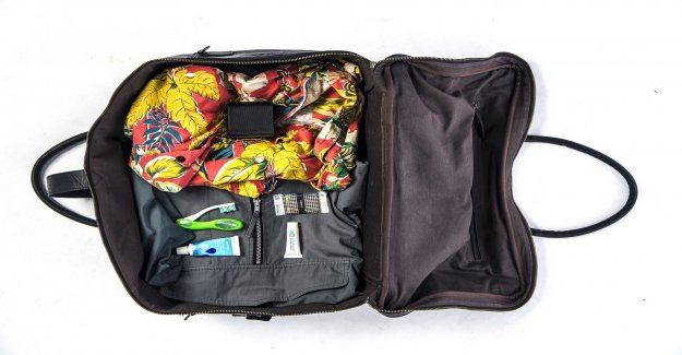 Travel with carry – on bag- save