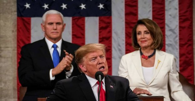 Trump stands firm in his speech: - I will get it built