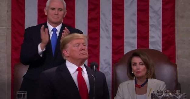 Unity and division in Trumps speech to the nation