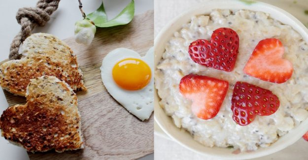 Valentine's day – fix breakfast for darling