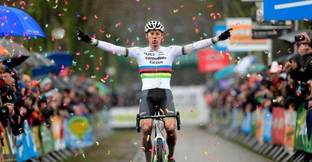 Van der Poel gives rainbow jersey extra shine: world champion welcomes in Maldegem, Van Aert ends season in minor