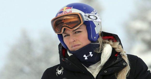 Vonns answer, after the nasty crash: Run downhill