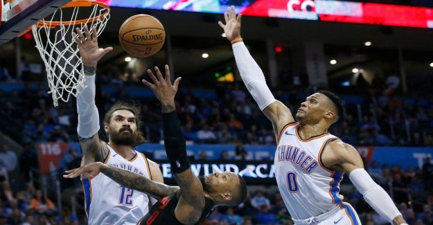 Westbrook struck 51-year-old NBA record