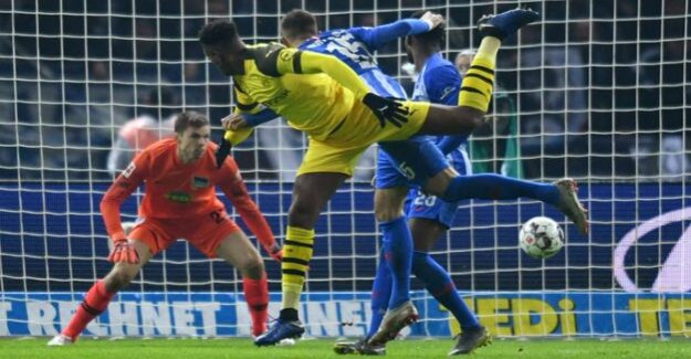 2:3 against Borussia Dortmund : Hertha is subject to in the last second
