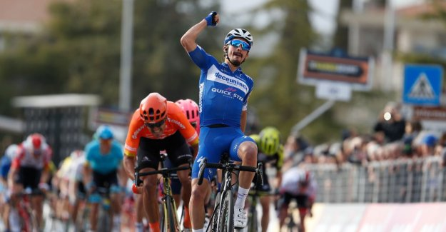 Alaphilippe gives Deceuninck-Quick.Step victory in Tirreno-Adriatico, Van Avermaet second