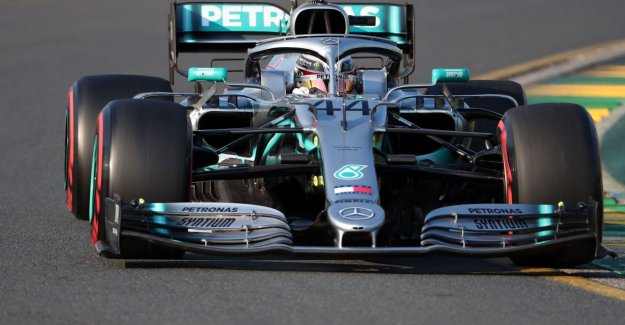 And then, suddenly, everything remains the same: Mercedes takes over first weekend in the GP of Australia, Hamilton grabs pole