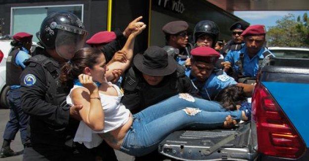 Arrests after protests in Nicaragua