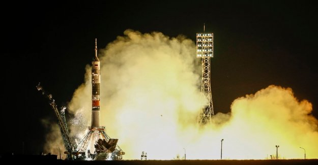 Attempt 2: astronauts who crash-land had to make after the failed launch, on the way to ISS