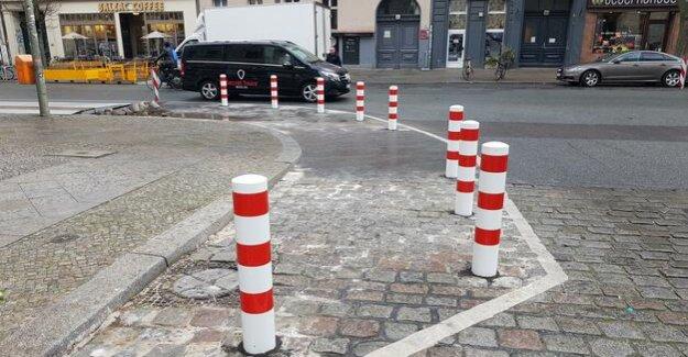 Berlin-Kreuzberg : The mountain man street is now abgepollert