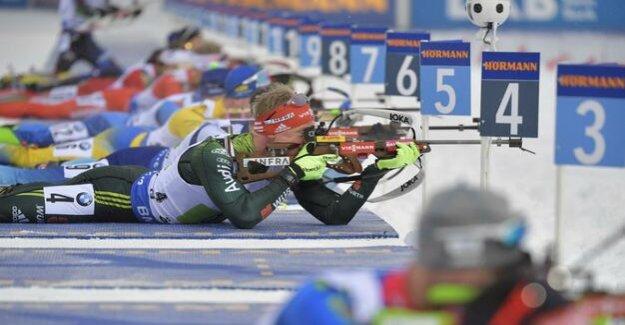 Biathlon world Cup in Ostersund : men take relay silver, women Fourth