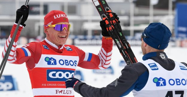 Bolsjunov won in Falun – buttons on Klæbo