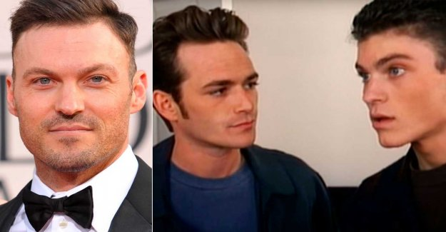Brian Austin Green on the critique after Luke Perry's death
