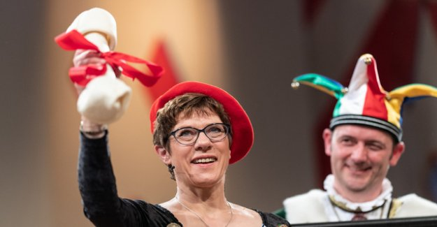 Carnival joke from Kramp-Karrenbauer makes for outrage