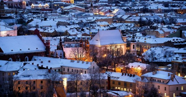Cheapest cities for a weekend break in Europe, Vilnius and one