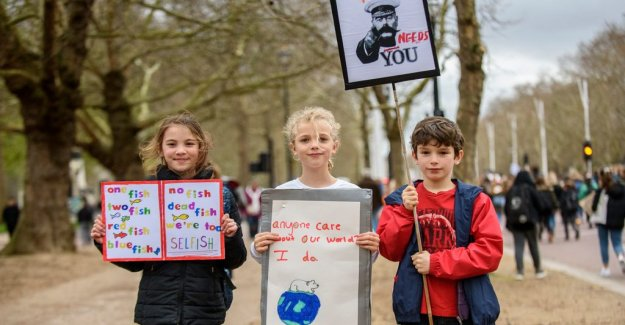 Children the world over were on strike for the climate
