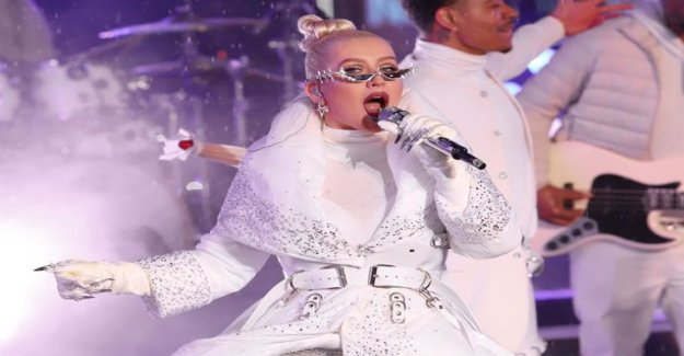 Christina Aguilera for the first time in Finland