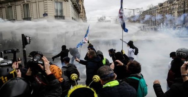 Demotag in Paris: yellow Westviolence is here, the climate there