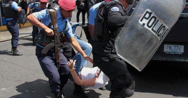 Dozens of heavy-handed arrests at demonstration in Nicaragua