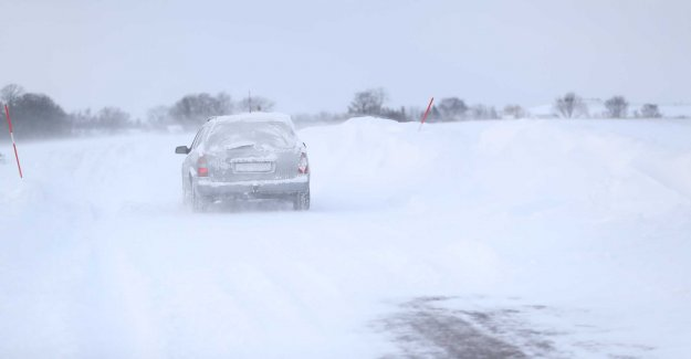 Drifting snow is expected in Västernorrland
