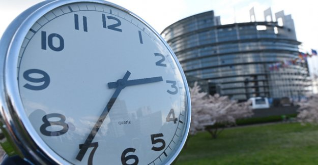 EU Parliament votes in favour of the end of the time changeover