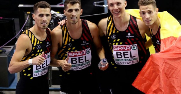 GOLD!!! Belgian Tornados European champion indoor after a duel with Spain - Eykens fourth at 800m - Cheetahs fifth in their finals