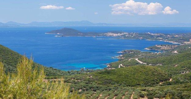 Greece's answer to the Amalfi coast