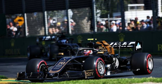 Haas on the verge of collapse: Kevin today's hero