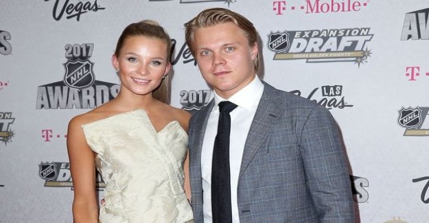 Here is Mikael granlund's and Emmeline Kainulaisen baby: we are looking forward to our life a new song is started in Nashville