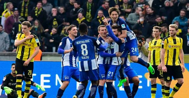 Hertha-BSC-Blog : 2:3 in extra time: Bitter defeat for Hertha