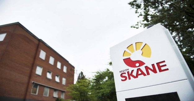IT all that happened over the Skåne health care