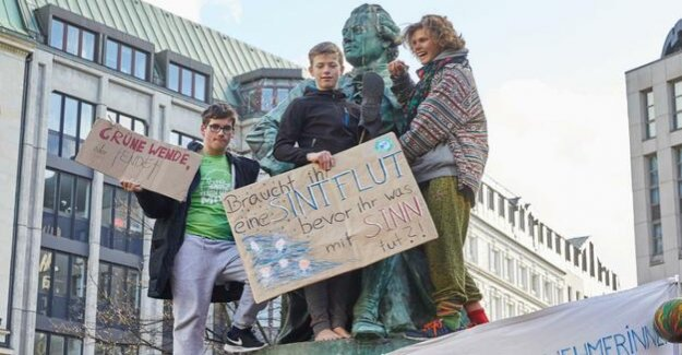 In 230 German cities Around 300,000 participants in climate change Demos