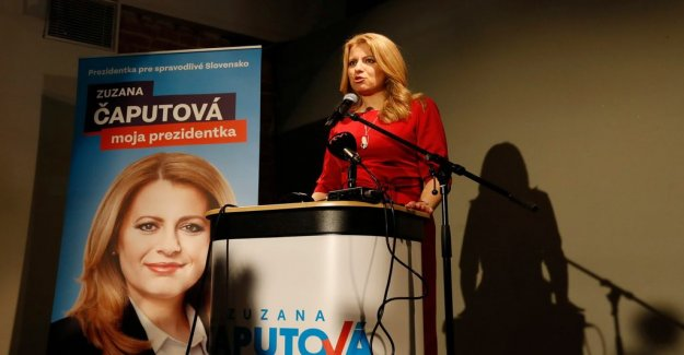 Liberal sensationalism Caputova to victory in Slovakia