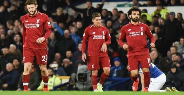 Liverpool draw again – lose serieledningen
