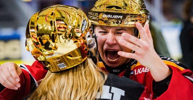 Luleå Swedish champion – crushed Linköping