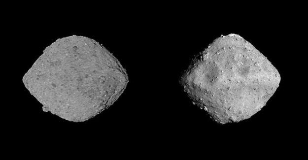New data on the asteroid Ryugu and Bennu : Flying heap of debris
