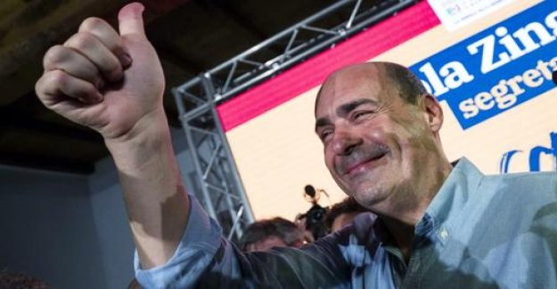 Nicola Zingaretti - Salvini's new against other players