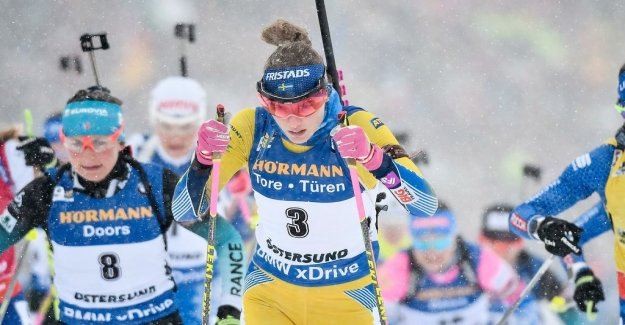 No medal – Öberg concluded world CUP as four