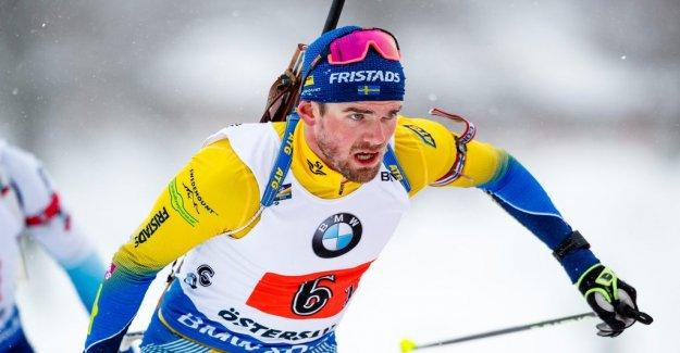 OS-the hero Fredrik Lindström ending with biathlon
