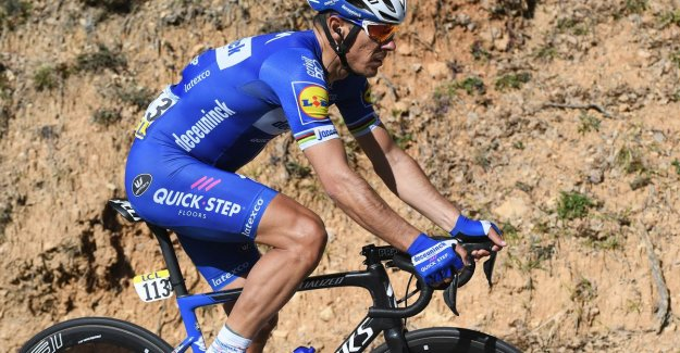 Philippe Gilbert ends after monstervlucht at 46 seconds of the leader's jersey in Paris-Nice: The Turini, there was too much