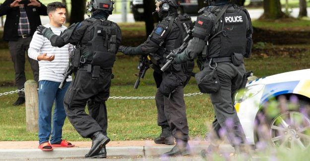 Police record three suspects after Christchurch attack