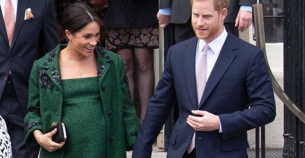 Prefer button to open than a tent: Meghan Markle is turns up very pregnant, but not a fan of zwangerschapskledij