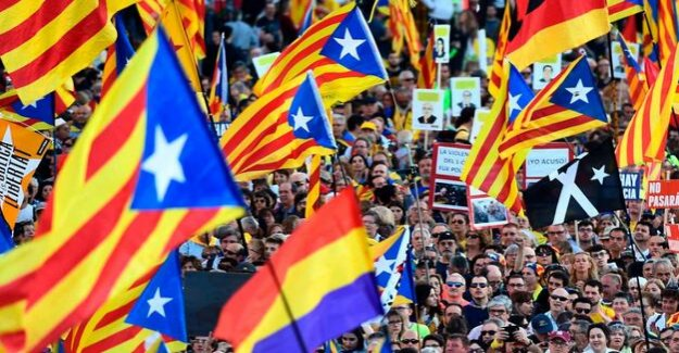 Protests against court proceedings : for the First time, large-scale demo of Catalan separatists in Madrid