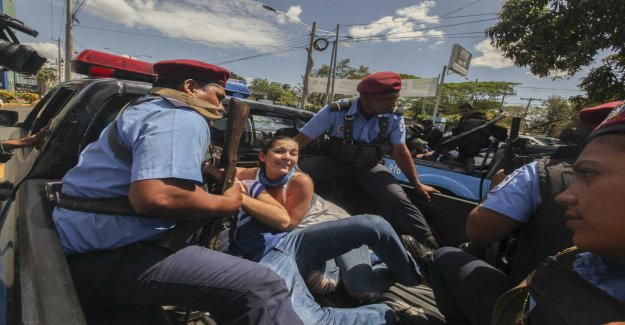 Protests in Nicaragua was brutally repressed
