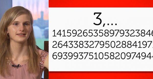 Punishment! Laura knows Pi to 4,000 digits after the decimal point