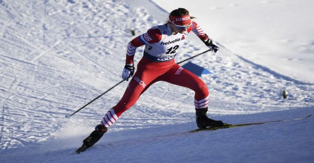 Russian skier from the unimaginable act: Cut young Swedish woman with a rod in the middle of the race – a brutal attack
