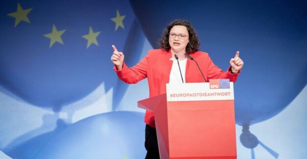 SPD adopted programme for the European elections : Nahles attacked Hetzer and Kramp-Karrenbauer