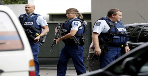 Several dead after the massacre in New Zealand