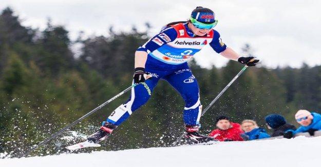 Slow ski day: Crystal Pärmäkoski were eliminated in future sprints