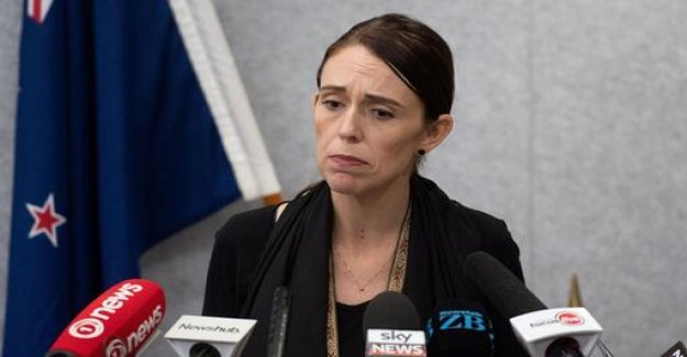 Stop in Christchurch: Ardern received a Manifesto by email